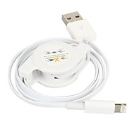 Lightning to USB Data Sync and Charge Scalable Cable for iPhone 5