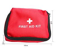 Nylon Waterproof Erste-Hilfe-Packet (Red)