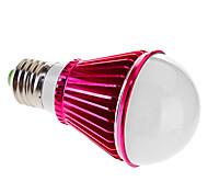 Ampoules Globe Gradable Blanc Chaud E27 5 W 5 LED Haute Puissance 300-350 LM 3000-3500 K AC 220 V