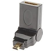 HDMI micro al adaptador de HDMI f / m para v1.3/v1.4