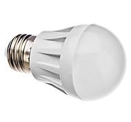 Lâmpada Redonda E26/E27 3 W 270 LM 6000K K Branco Natural 20 SMD 3014 AC 220-240 V A