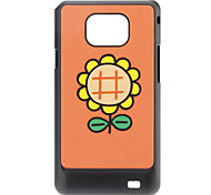 Sunflower Pattern Hard Case for Samsung Galaxy S2 I9100