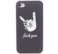 Hand Pattern Hard hoesje voor iPhone 4/4S