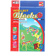 DIY Intellect Blocks (90pcs, Model:1727-B)