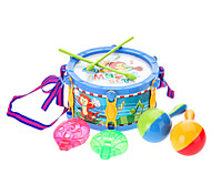Colorful Music Drum Set Toy (Random Color)