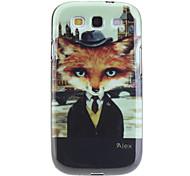 Modello Fox Custodia protettiva TPU per Samsung Galaxy S3 I9300