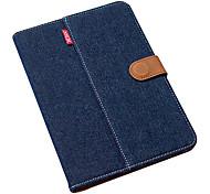 ultra sottile royal blu denim di puro cotone w / stand per iPad mini 3, Mini iPad 2, ipad mini