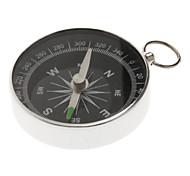 Präzise Outdoor-Pocket-Navigation Kompass für Wandern Camping (Silber)