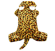 Super Cool Leopard Pattern Pet Hoody Suit for Dogs (XS-XL)