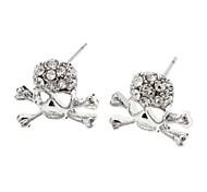 Skull Diamond Earring