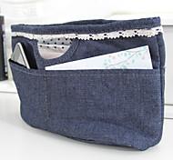 23x8x15cm Blu Cowboy Jewelry Storage Bag in Bag