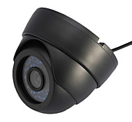 Dome Camera Indoor with 1/4 Color Cmos (24 IR Leds)