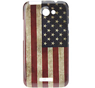 Retro Style The Old Glory Hard Case for HTC G23 One X S720e