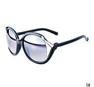 Women'S UV400 Oval Full Rim Sunglass(Assorted Colors)
