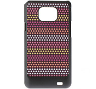 Wave Point Pattern Hard Case for Samsung Galaxy S2 I9100