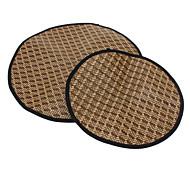 Super Cool Circle Woven Pet Summer Sleeping Mat for Dogs (S-L)