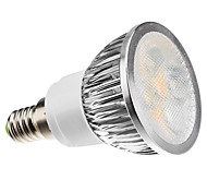 4W E14 LED Spotlight MR16 4 High Power LED 360 lm Warm White Dimmable AC 220-240 V