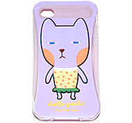 Cartoon Cat Pattern Hard Case für iPhone4/4S