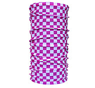Outdoor Sports Bike Protective Pink Square Array Kerchief
