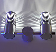2W Modern Led Wall Light with Scattering Light 2 Cylinder Barrier Layer Ray of Light