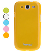 For Samsung Galaxy Case Other Case Back Cover Case Solid Color PC Samsung S3