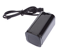 6000mAh 4x18650 Li-ion Battery Pack for LED Headlight and Bicycle Light