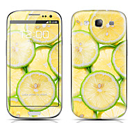 Lemon Pattern Front and Back Protector Stickers for Samsung Galaxy S3 I9300