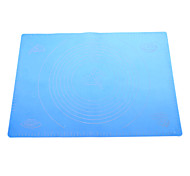 Silicone Pad Baking Mat with Marks (Random Color)