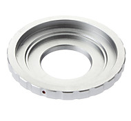 C-Mount Objektiv an Micro 4/3 M4 / 3 Mount Adapter Adapter Ring (Silber)