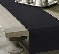 Solid Color Linen Table Runner