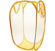 Orange Nylon Laundry bin