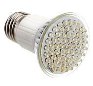 E27 3.5W 60-LED 350-400LM 3000-3500K Warm White Light LED Spot Bulb (85-265V)