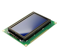 """5V 3.2"""" LCD 12864 Yellow & Green Screen Module with Backlit (English Word Stock)"""