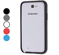 Protection en aluminium butoir pour Samsung Galaxy Note N7100 2 (couleurs assorties)