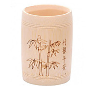 Stylish Bamboo Pattern Pen Holder