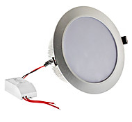 Dimmable 12W 1080LM 3000-3500K Warm White Light Silver Shell LED lampadina del soffitto (220)