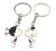 2-Pack Magische Schöne Paare Schlüsselanhänger