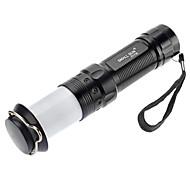 Samllsun Waterproof 1-Mode Cree Led Flashlight ZY-716(100LM,3xAAA,Black)