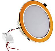 Dimmable 18W 1620LM 6000-6500K Blanco natural Luz Dorada Shell LED Lámpara de techo (220)