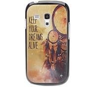 MANTENHA seus sonhos vivos Padrão Hard Case para Samsung Galaxy S3 mini-I8190