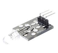 38kHz (para arduino) módulo transmissor infravermelho IR compatível - preto