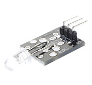 38KHz (For Arduino) Compatible IR Infrared Transmitter Module - Black