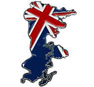 Car Auto Metal 3D British Flag Emblem Badge Decal Sticker