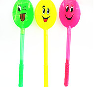 3-Mode Flashing Smiling Face Glow Stick Concert Props(Assorted Color)