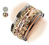 Frauen Fashional-analoge Quarz-Armbanduhr (farbig sortiert)