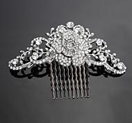 Favoloso Lega pettini con copricapo da sposa strass da sposa