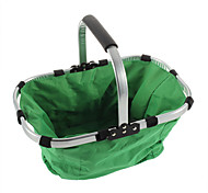 Folding Portable Shopping Picnic Hand Baske