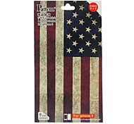 De Stars and Stripes The Pattern Skin Guard en Screen Protector met een reinigingsdoekje voor de iPhone 5