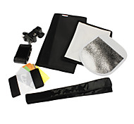Godox SA-K6 6-in-1 Speedlite Accessories Kit Softbox Filter Reflector Light Beam