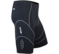 Santic Men's Cycling Shorts Coolmax Breathable Material 1/2 Pants(Black) MC05034